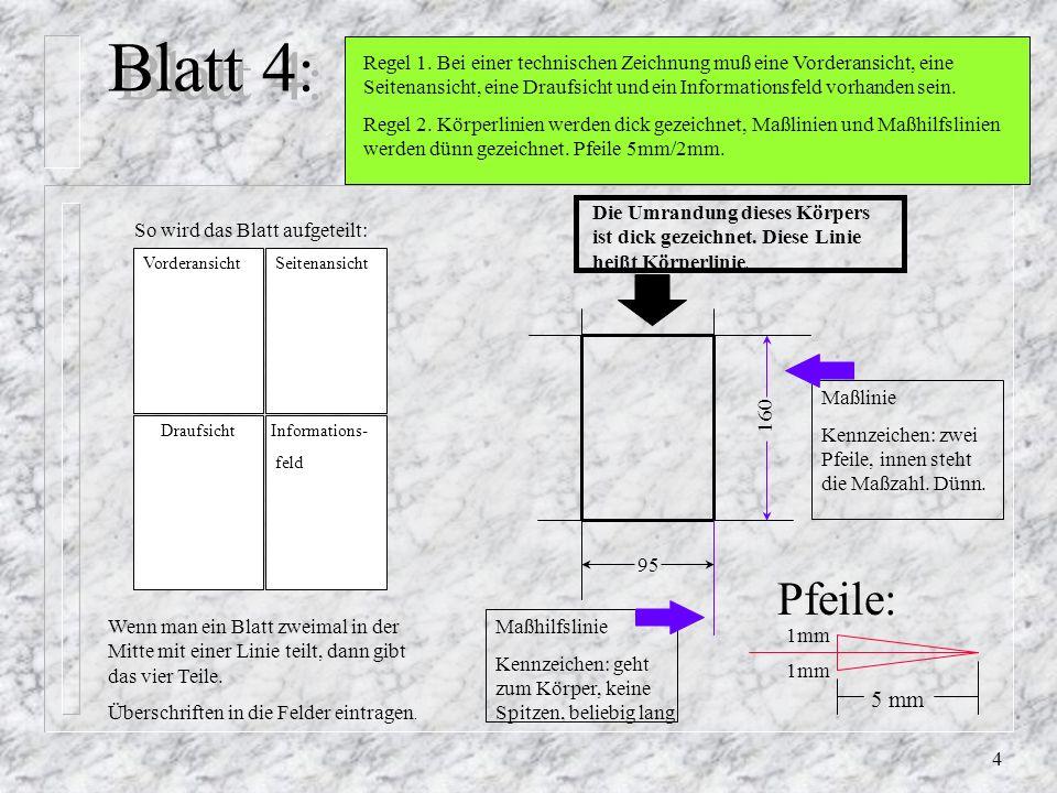4 Blatt 4 : Regel 1.