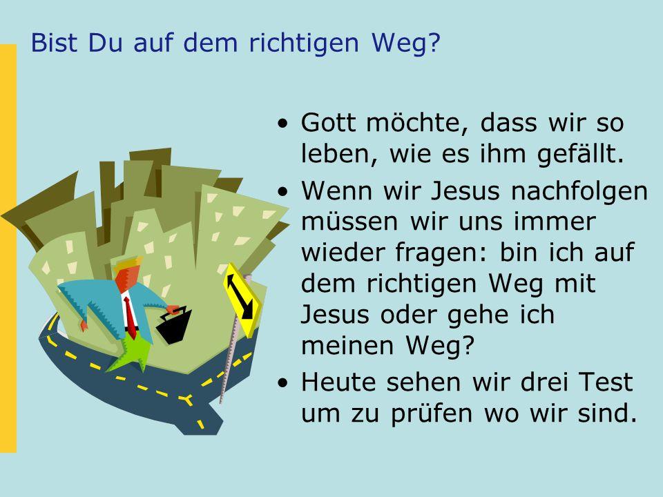 1.Johannes 2,3-6 3 Wenn wir Gott gehorchen, können wir gewiss sein, dass wir ihn (Gott) kennen.
