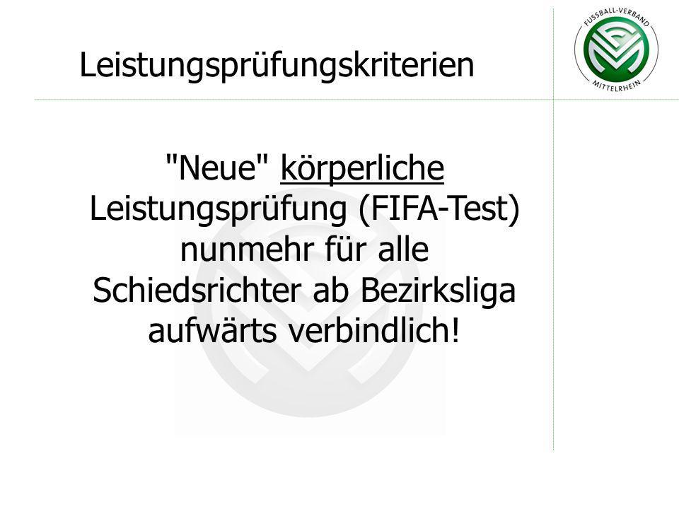 Grundlegende Änderung gegenüber der DFB- Anweisung Nr.