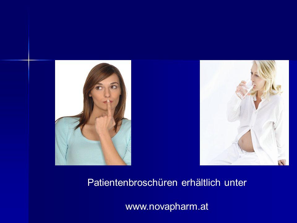 Patientenbroschüren erhältlich unter www.novapharm.at