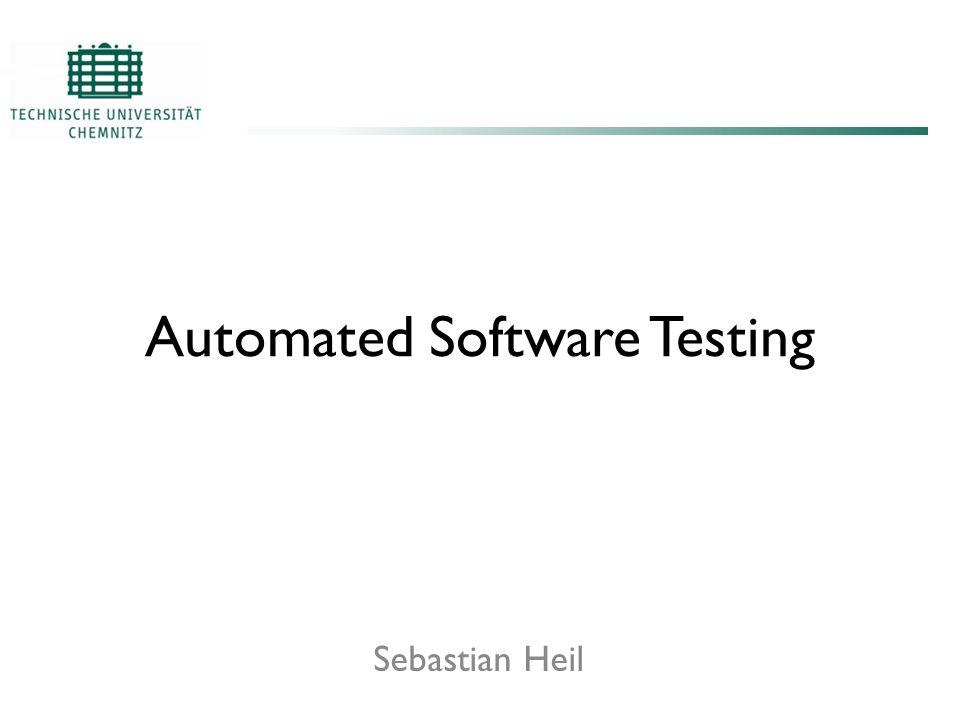 xUnit Automated Software Testing - Sebastian Heil