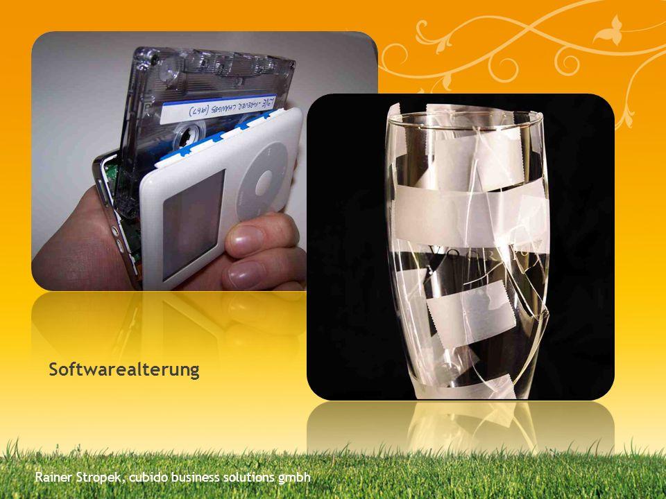 Softwarealterung Rainer Stropek, cubido business solutions gmbh