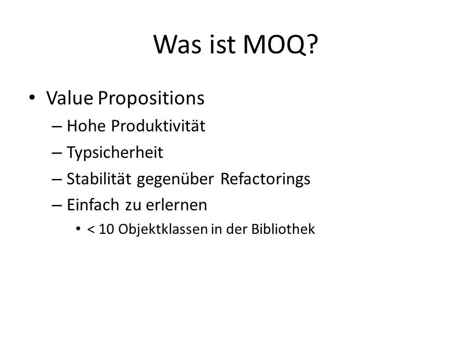 Was ist MOQ.