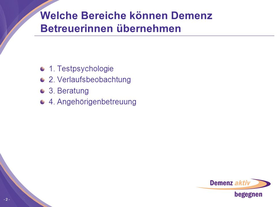- 13 - CHECKHEFT DEMENZ