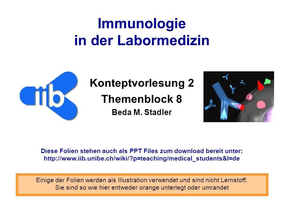 KV 8.22 KV2 im Überblick Was sind Immunassays.Was versteckt sich hinter den Abkürzungen.