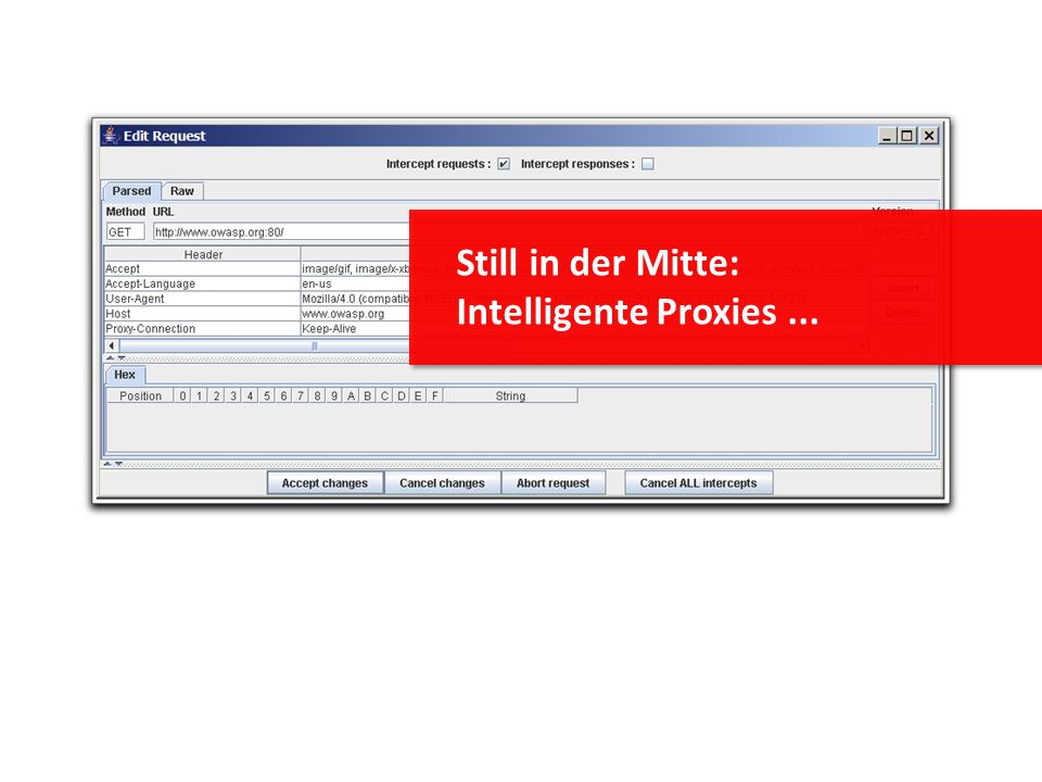 Still in der Mitte: Intelligente Proxies...