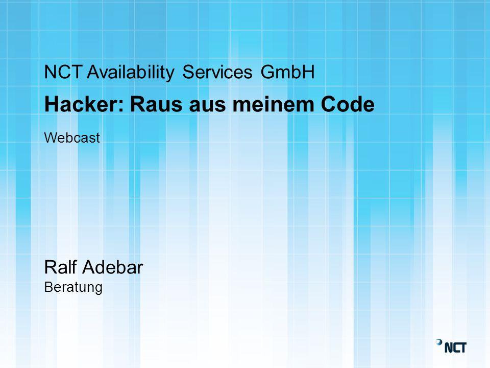 NCT-Gruppe IBM-Systemhaus 1988 Hosting 2005 Cloud 2010 Frankfurt I Tier 3+ Frankfurt II Tier 3+ Trebur I Tier 2+