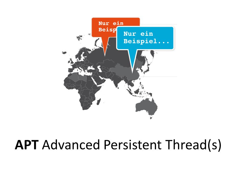 APT Advanced Persistent Thread(s)
