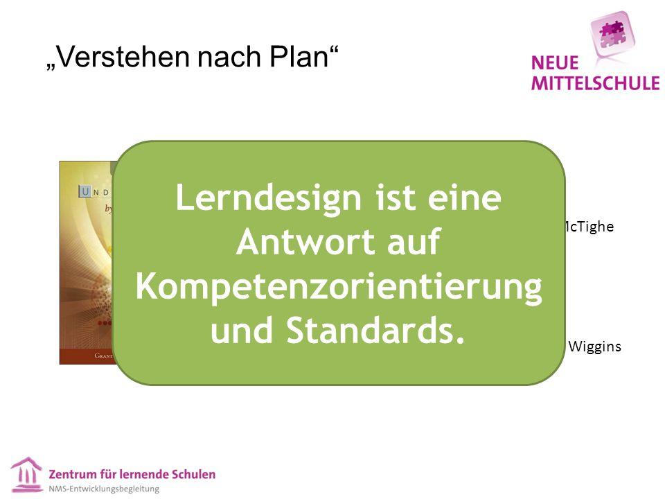 Verstehen nach Plan Jay McTighe Grant Wiggins Lerndesign ist eine Antwort auf Kompetenzorientierung und Standards.