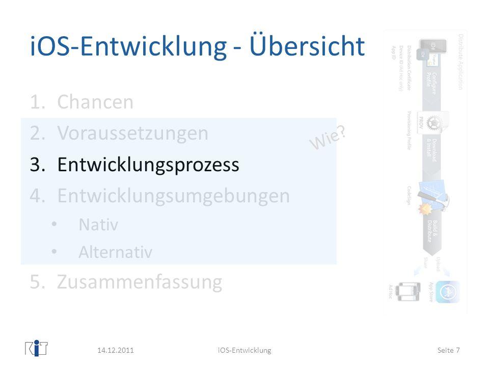 Xcode - IDE Projektverwaltung inkl.