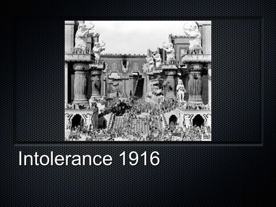 Intolerance 1916