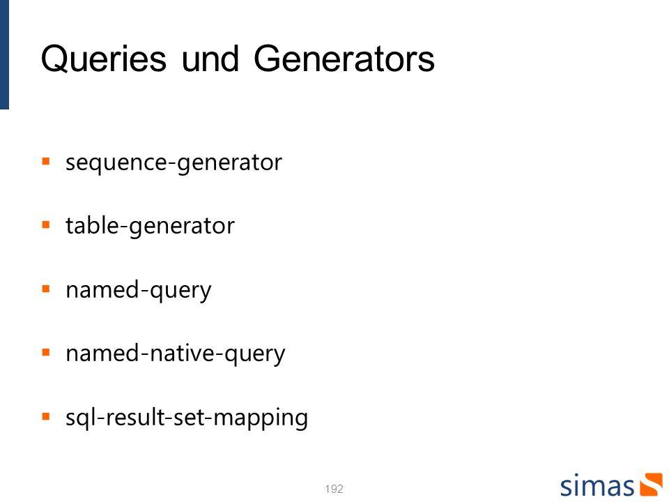 Entity Mapping mit XML 193