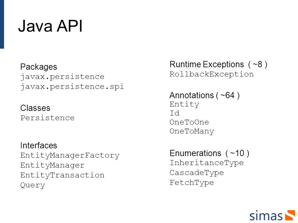 JPA Providers Die bekanntesten JPA Providers sind: Hibernate Toplink / TopLink Essentials / EclipseLink KODO / OpenJPA JPOX / DataNucleus Weniger bekannt sind: Apache Cayenne Resin Amber CocoBase