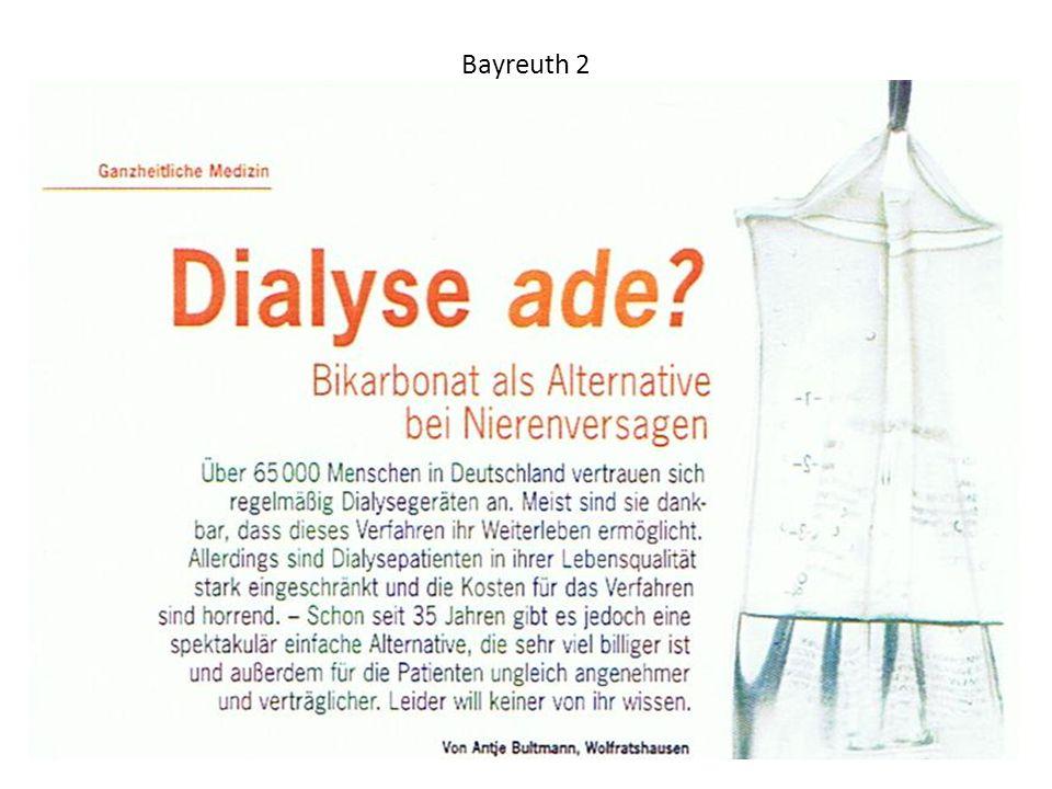 Bayreuth 3 Natrium Hydrogencarbonat 8,4 % 1 Molar