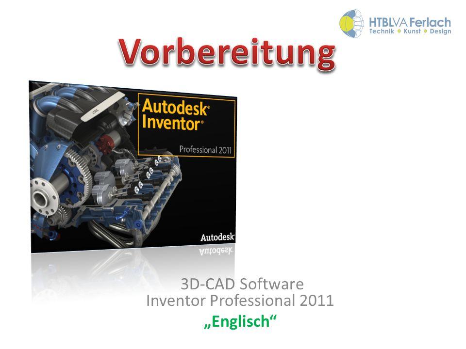 3D-CAD Software Inventor Professional 2011 Englisch