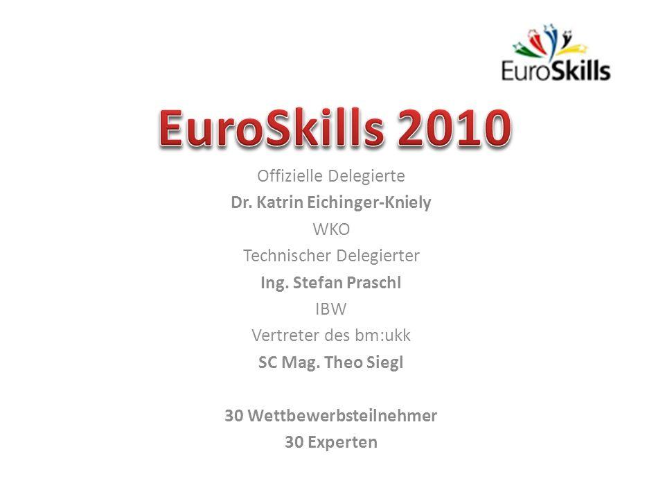 Offizielle Delegierte Dr.Katrin Eichinger-Kniely WKO Technischer Delegierter Ing.