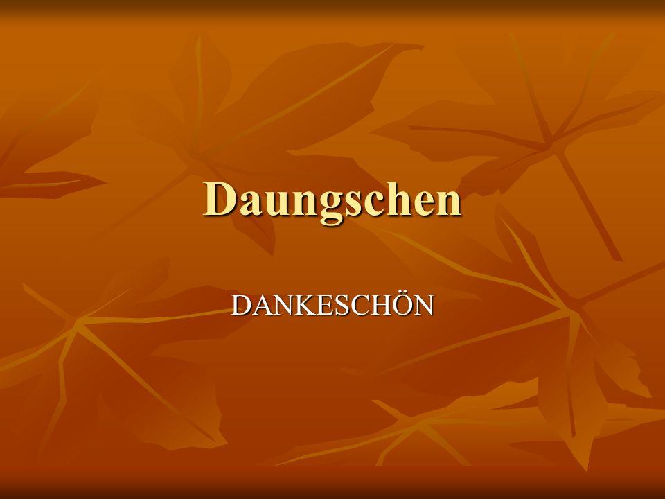 Daungschen DANKESCHÖN