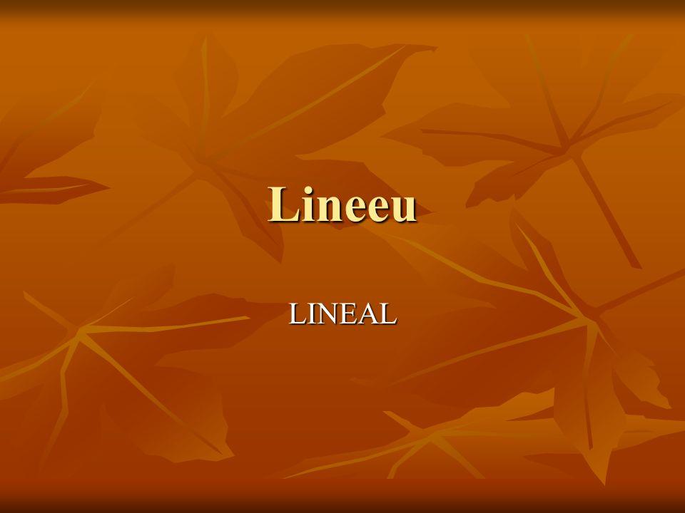 Lineeu LINEAL