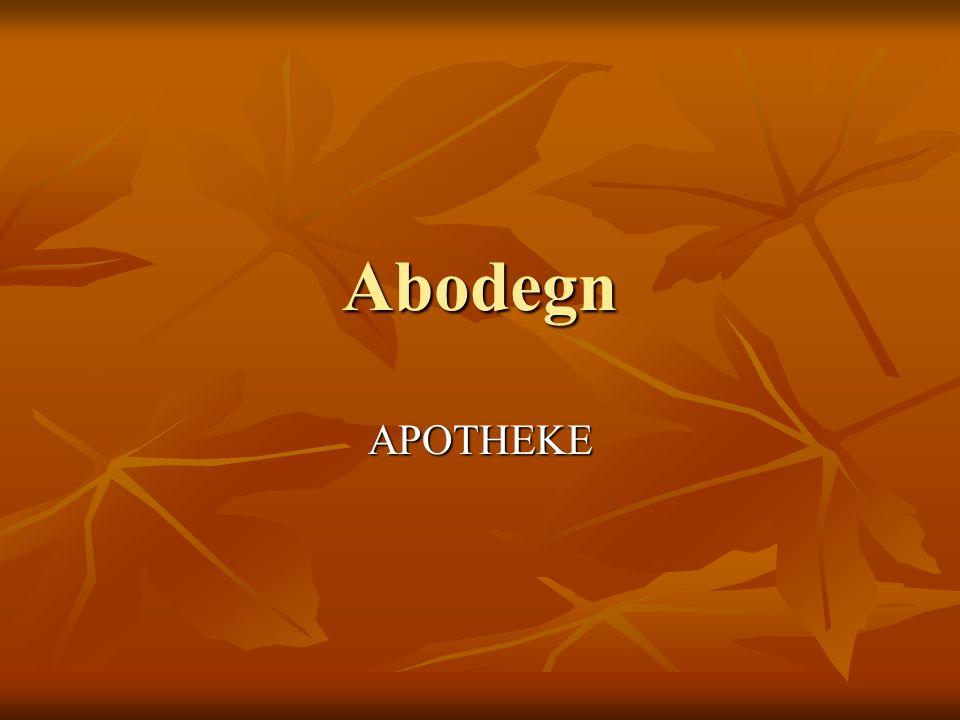Abodegn APOTHEKE