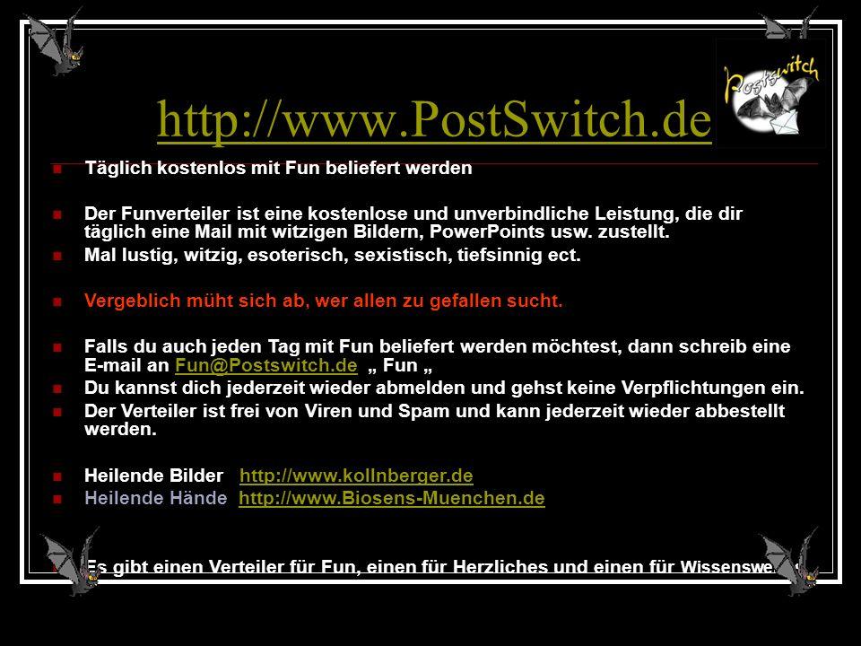 Ist es schwer gefallen? Nun….Ich war ebenso schlau!!?? Have a nice day! www.Postswitch.de