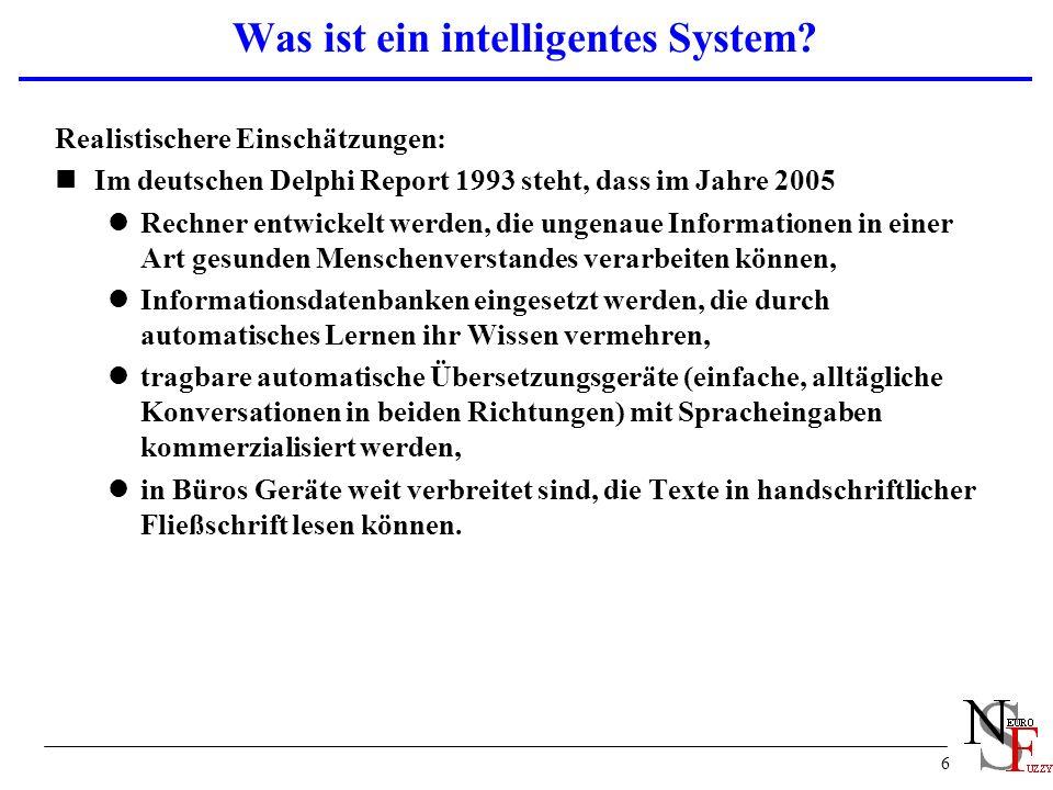 6 Was ist ein intelligentes System.