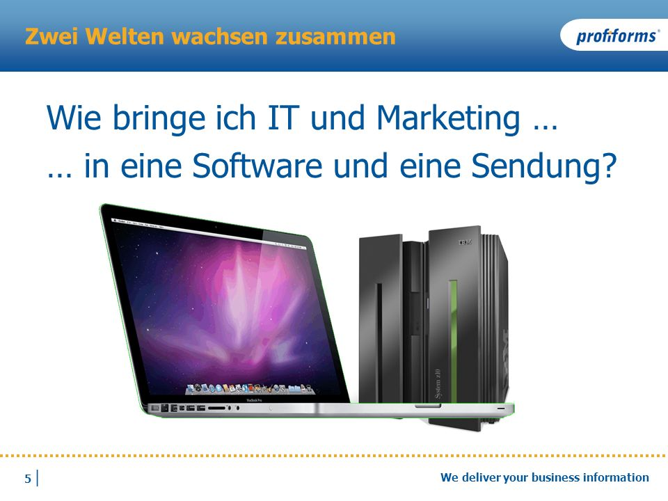 26 | We deliver your business information Details: Output-Managment-Systeme