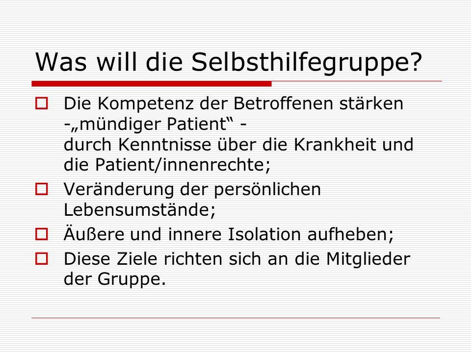 Wer ist ein mündiger Patient.