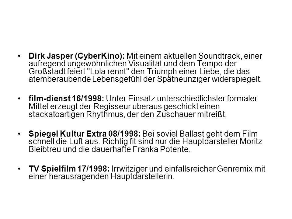 Dirk Jasper (CyberKino): Mit einem aktuellen Soundtrack, einer aufregend ungewöhnlichen Visualität und dem Tempo der Großstadt feiert