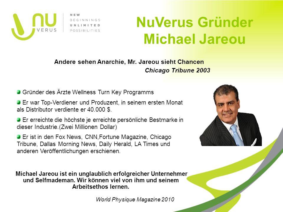 Michael Jareou ist ein unglaublich erfolgreicher Unternehmer und Selfmademan.