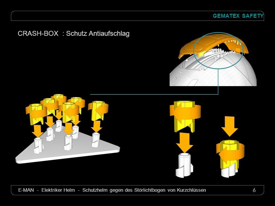 7 GEMATEX SAFETY E-MAN - Elektriker Helm - Schutzhelm gegen des Störlichtbogen von Kurzchlüssen Mehr Sicherheit .