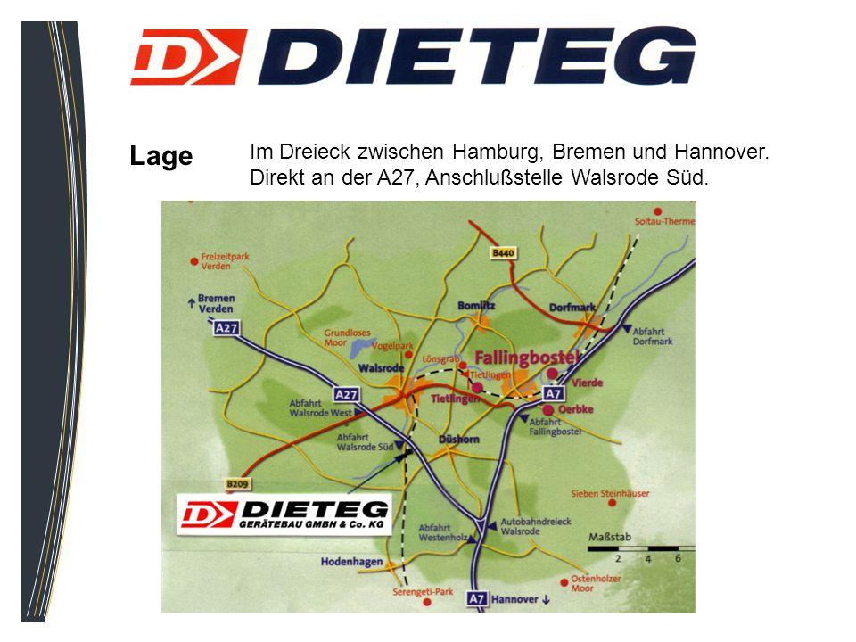 Lage Im Dreieck zwischen Hamburg, Bremen und Hannover. Direkt an der A27, Anschlußstelle Walsrode Süd.