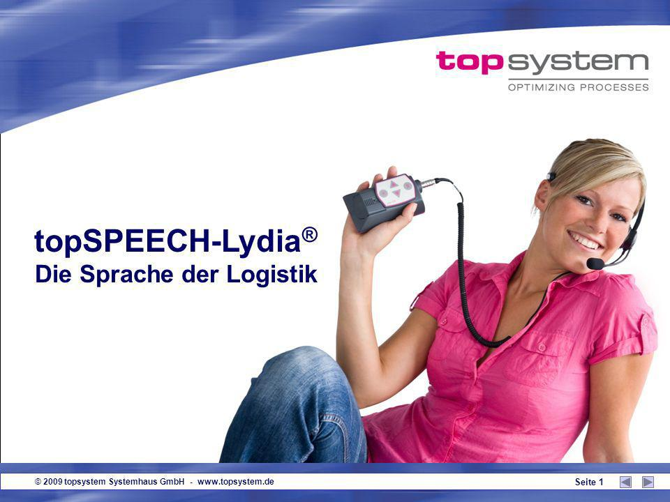 © 2009 topsystem Systemhaus GmbH - www.topsystem.de Seite 11 Guten Tag.