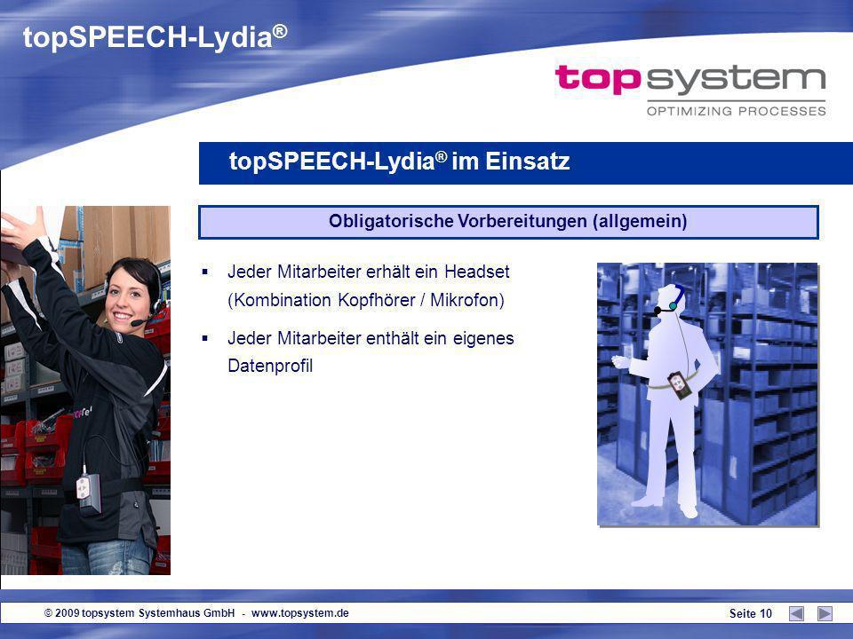© 2009 topsystem Systemhaus GmbH - www.topsystem.de Seite 9 12-1-119 / 45 12-1-120 / 24 Obligatorische Vorbereitungen (allgemein) Einrichtung eines WL