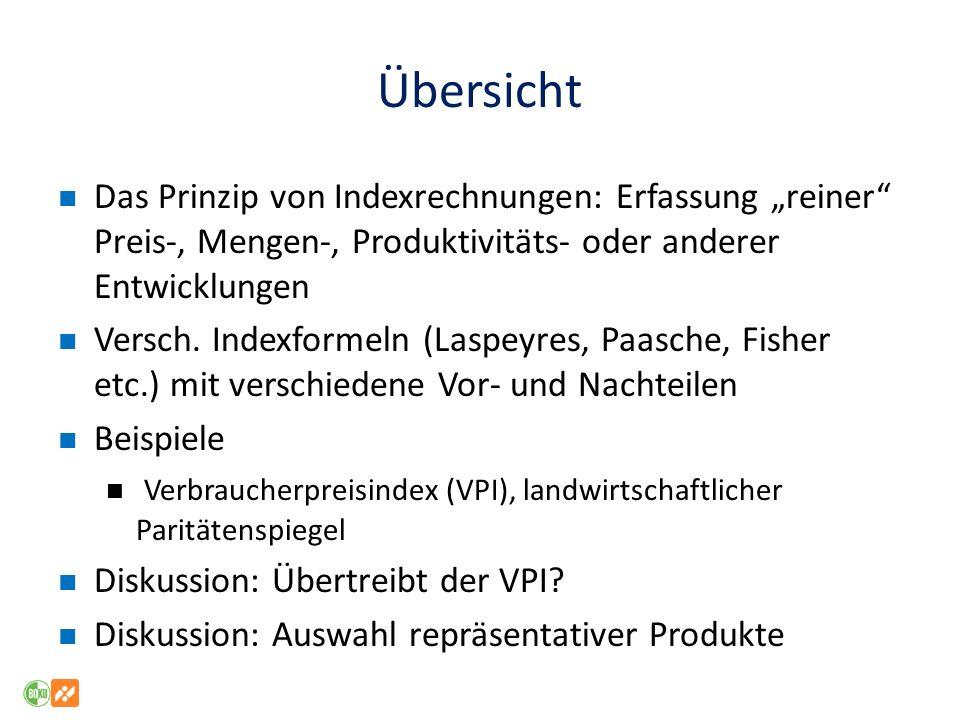 VPI Geflügel (vgl1) – Rindfleisch Quelle: Statistik Austria, eigene Verkettung, eigene Darstellung