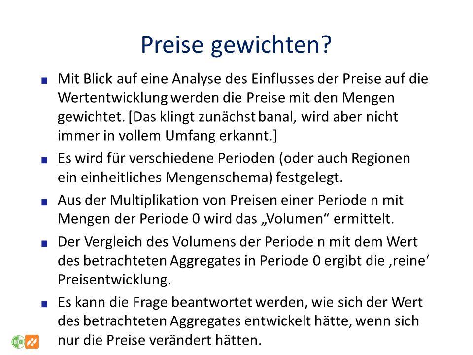 Preis- (bzw.Produkt)definitionen (2) Nach Art der Produkte bzw.