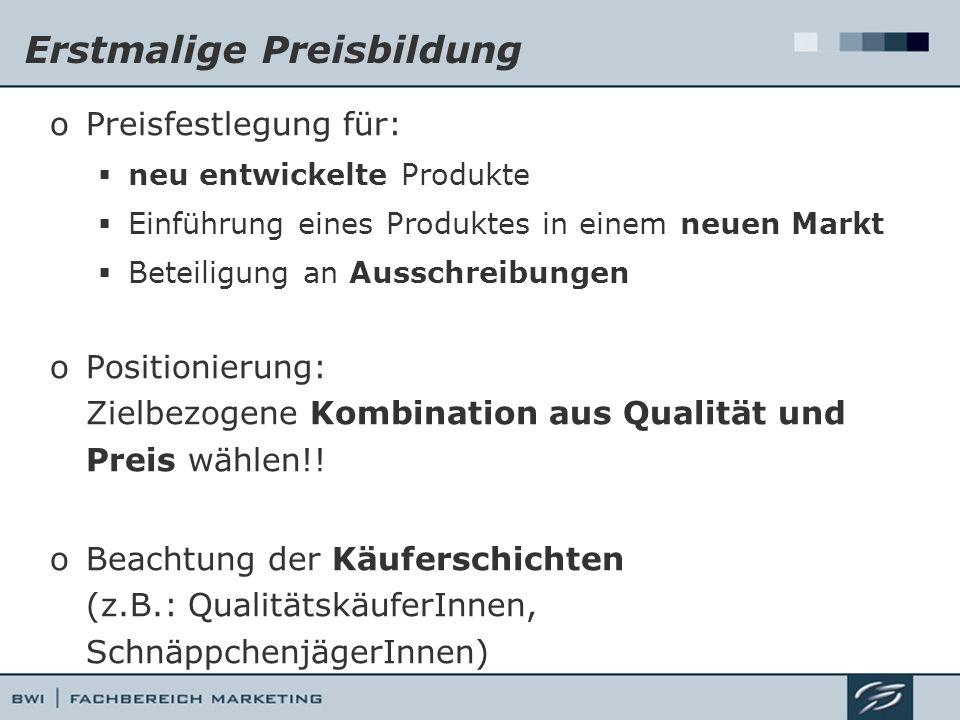 Geographische Preismodifizierung Sportartikelhersteller Sitz: Nürnberg Augsburg*Salzburg*Kopenhagen* 1.