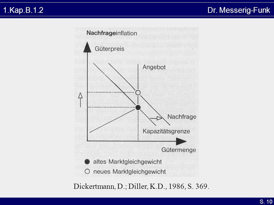 S. 10 1.Kap.B.1.2 Dr. Messerig-Funk Dickertmann, D.; Diller, K.D., 1986, S. 369.