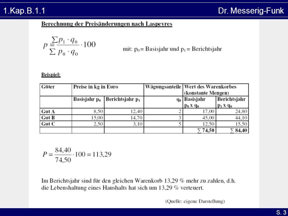 S. 3 1.Kap.B.1.1 Dr. Messerig-Funk
