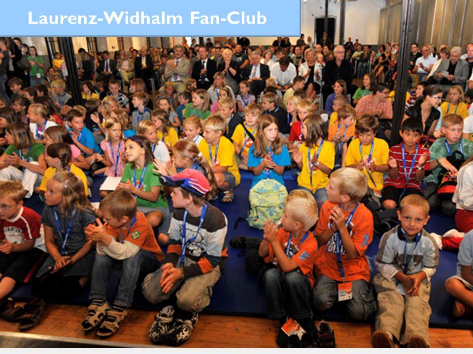 Preisverleihung 2012 Laurenz-Widhalm Fan-Club