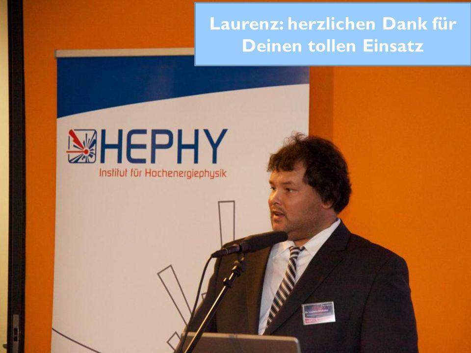 Preisverleihung 2012 Laurenz: herzlichen Dank für Deinen tollen Einsatz