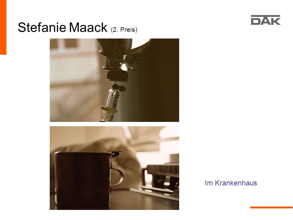 Stefanie Maack (2. Preis) Im Krankenhaus