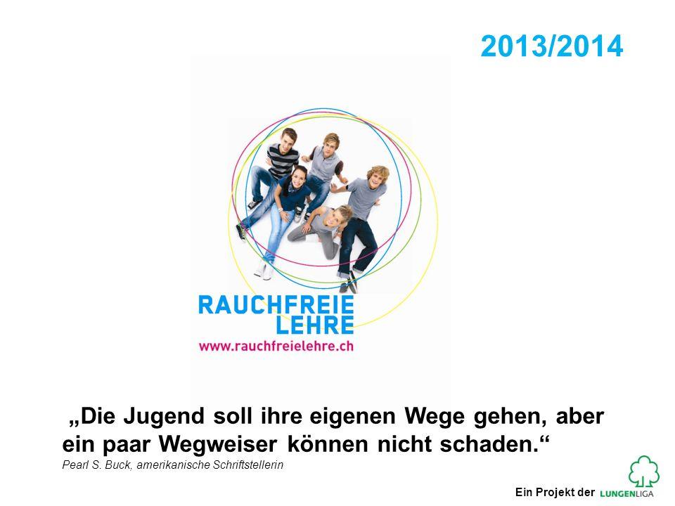 Schweiz: Rückgang Raucheranteil 2001/2012 Gesamtbevölkerung (14 – 65 Jahre) 2001 2012 Jugendliche (14 - 19 Jahre) 2001 2012 Quelle: Suchtmonitoring Schweiz: Tabak (Bundesamt für Gesundheit, 2012) - 8 %