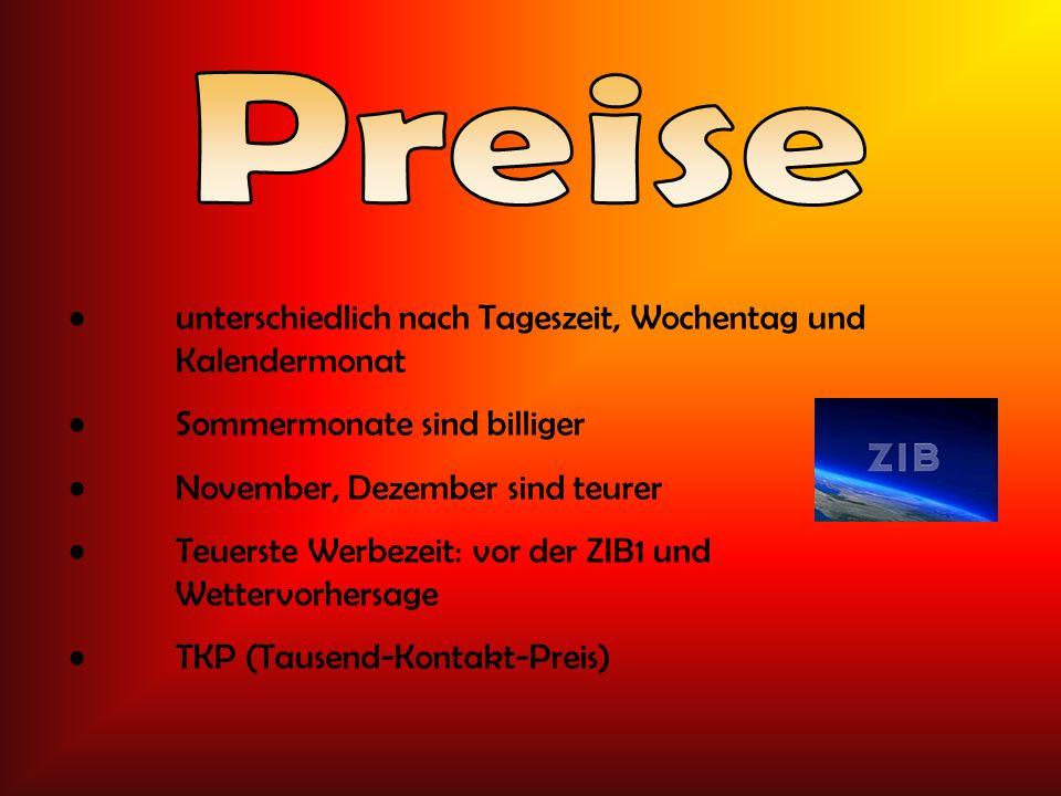 Österreich 2007 15,2 Mio. Euro Deutschland 2006 117 Mio. Euro