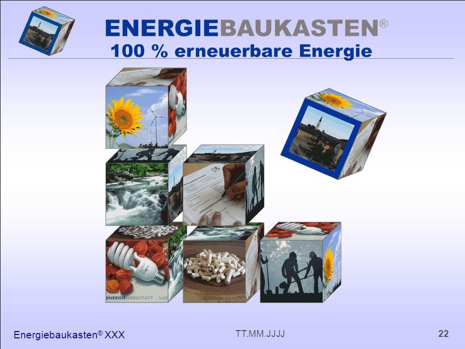 Energiebaukasten ® XXX 22TT.MM.JJJJ