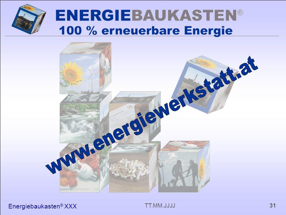 Energiebaukasten ® XXX 31TT.MM.JJJJ