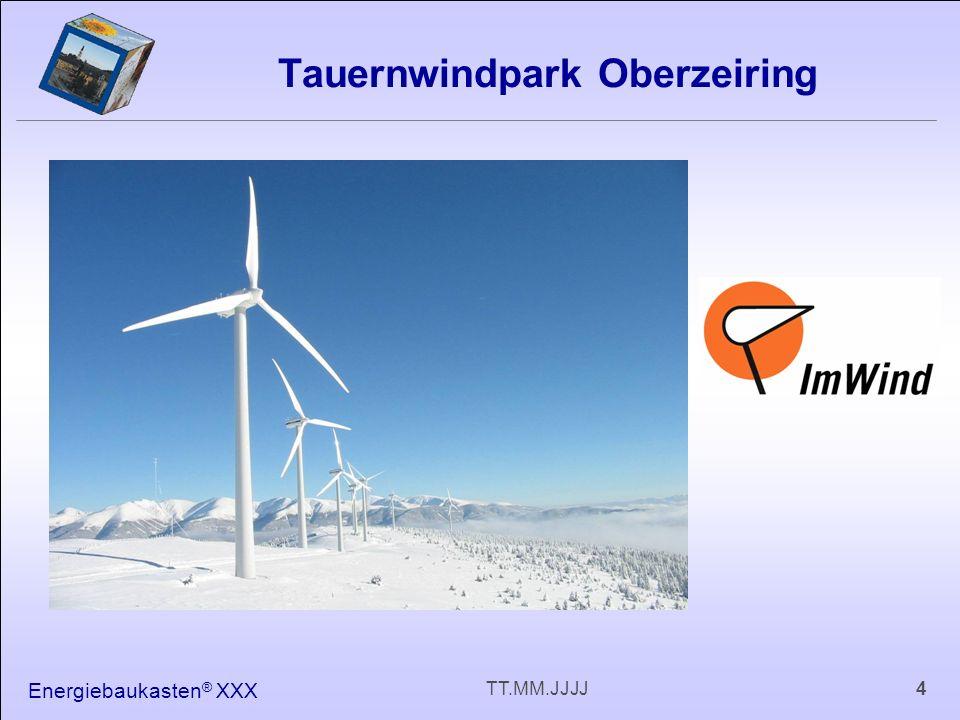Energiebaukasten ® XXX 4TT.MM.JJJJ Tauernwindpark Oberzeiring