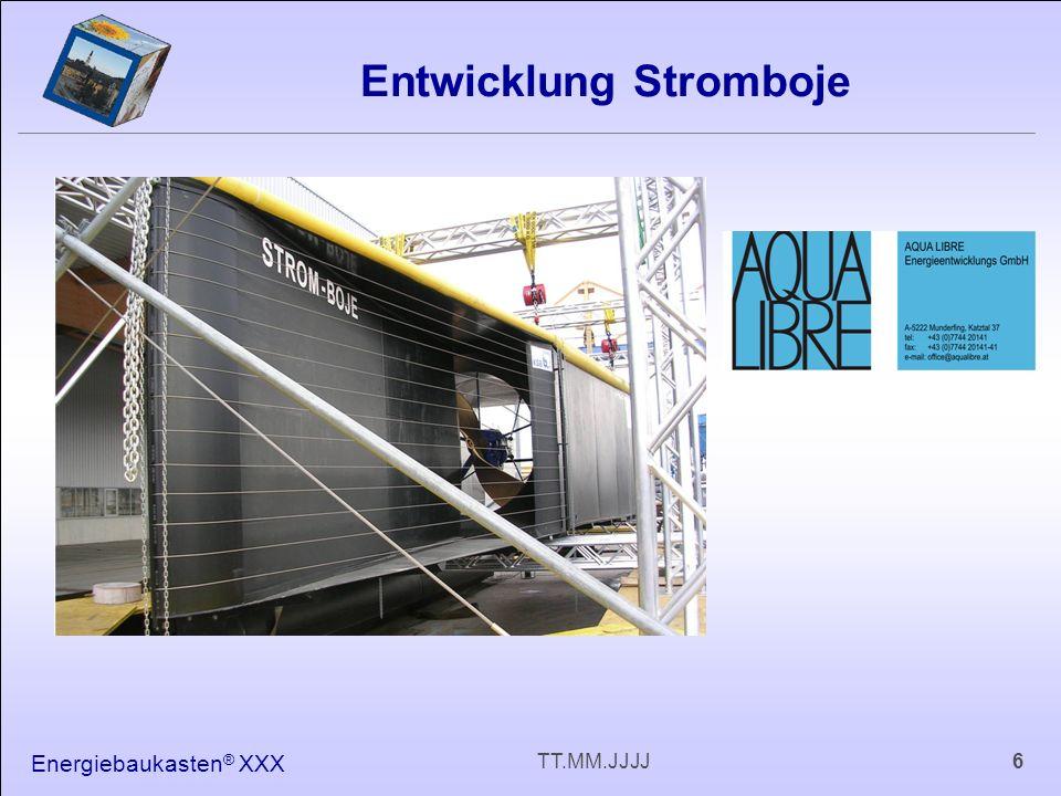 Energiebaukasten ® XXX 6TT.MM.JJJJ Entwicklung Stromboje
