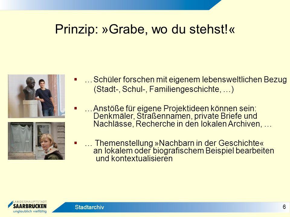 27 Stadtarchiv Spezifischer lokaler od.