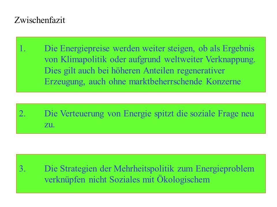 Verknüpfung von Sozialem und Ökologischem: Ansätze der Linken Energieberatung für Arme.
