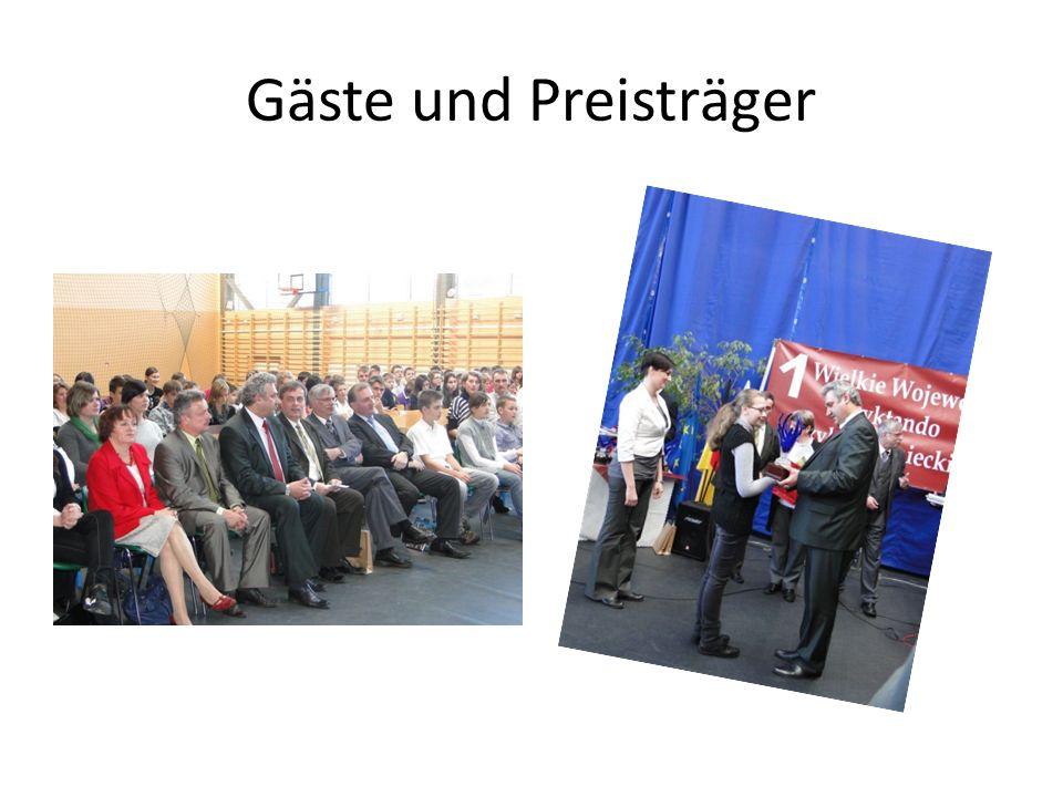 Gäste und Preisträger